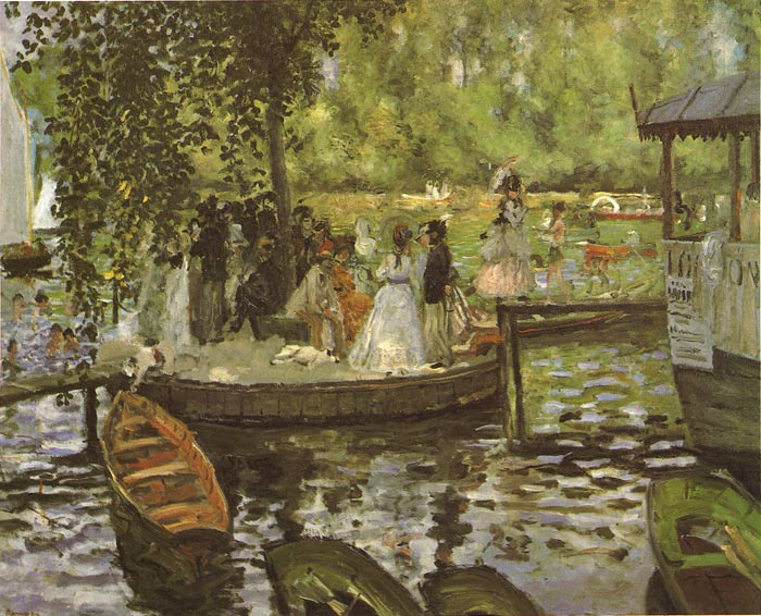 La Grenouillere, 1869  Painting Reproductions