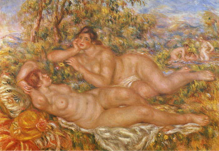 The Nymphs, 1918  Painting Reproductions