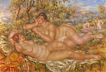 Renoir, Pierre Auguste The Nymphs, 1918 Art Reproductions