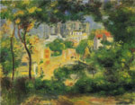 Renoir, Pierre Auguste View of the New Building of the Sacre-Coeur, 1896 Art Reproductions