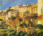 Renoir, Pierre Auguste Terrace in Cagnes, 1905 Art Reproductions