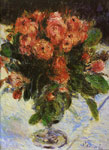 Renoir, Pierre Auguste Roses, 1890 Art Reproductions