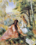 Renoir, Pierre Auguste On the Meadow, 1890 Art Reproductions
