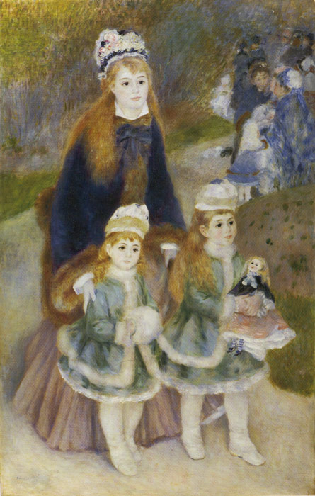 Mother and Children, 1876- 1878  Painting Reproductions