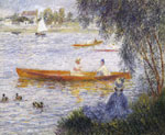 Renoir, Pierre Auguste Boating at Argenteuil, 1873 Art Reproductions