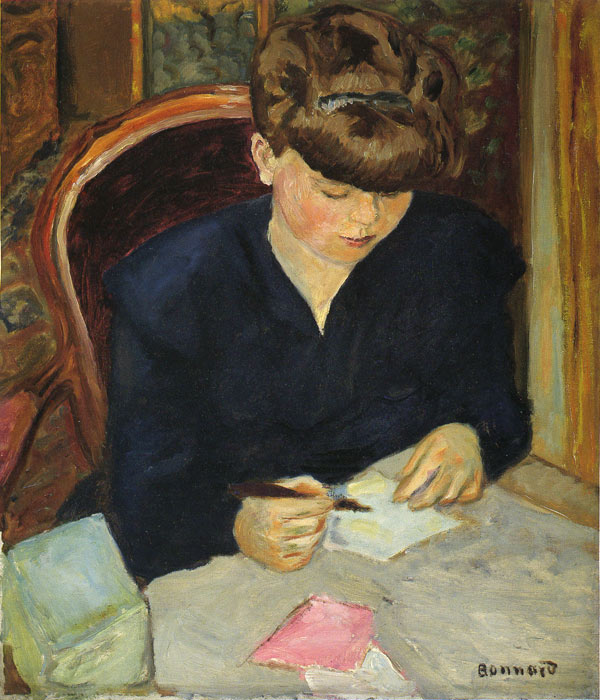Letter, 1906  Painting Reproductions