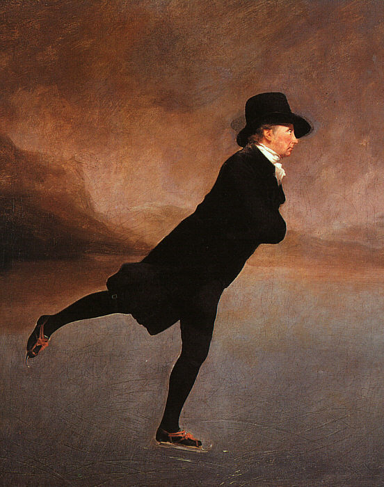 The Rev. Robert Walker Skating, 1790  Painting Reproductions