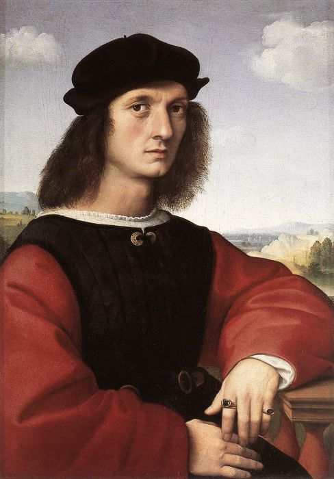 Portrait of Agnolo Doni, 1506  Painting Reproductions