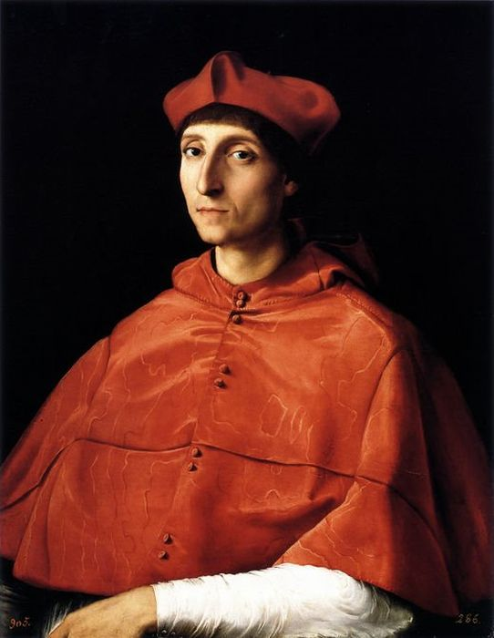 Portrait of a Cardinal  Painting Reproductions