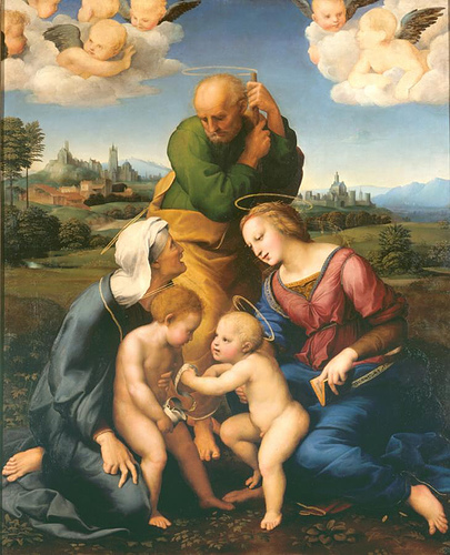 The Canigiani Holy Family, 1508  Painting Reproductions