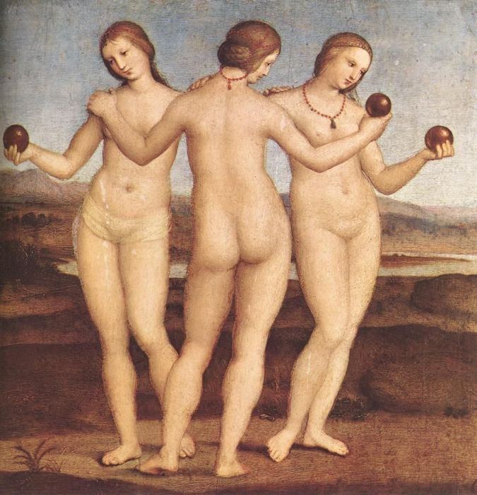 The Three Graces, 1504  Painting Reproductions