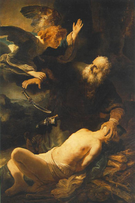 The Sacrifice of Abraham,  1635  Painting Reproductions