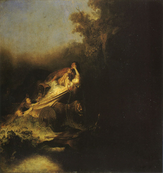 The Abduction of Proserpine, 1631  Painting Reproductions