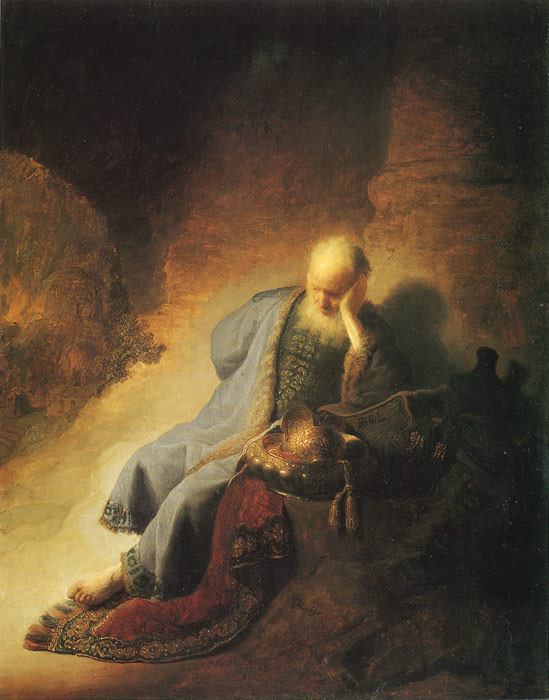 The Prophet Jeremiah, 1630  Painting Reproductions