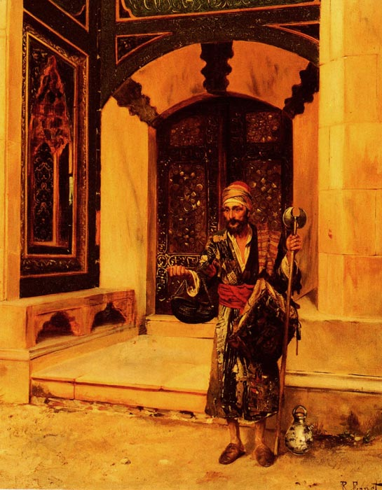 The Beggar  Painting Reproductions