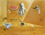 Dali, Salvador Feather Equilibrium 1947 Art Reproductions