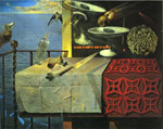 Dali, Salvador Living Still Life, 1956 Art Reproductions