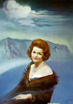 Dali, Salvador Portrait of Mrs. Ruth Daponte, 1965 Art Reproductions