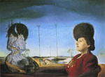 Dali, Salvador Portrait of Mrs. Isabel Styler-Tas, 1945 Art Reproductions