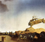 Dali, Salvador Apparition of the Town of Delft, 1936 Art Reproductions