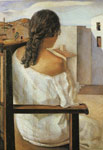 Dali, Salvador Girl from the Back Art Reproductions