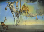 Dali, Salvador The Temptation of St. Anthony Art Reproductions