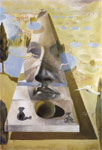 Dali, Salvador Vision Of A Face Art Reproductions