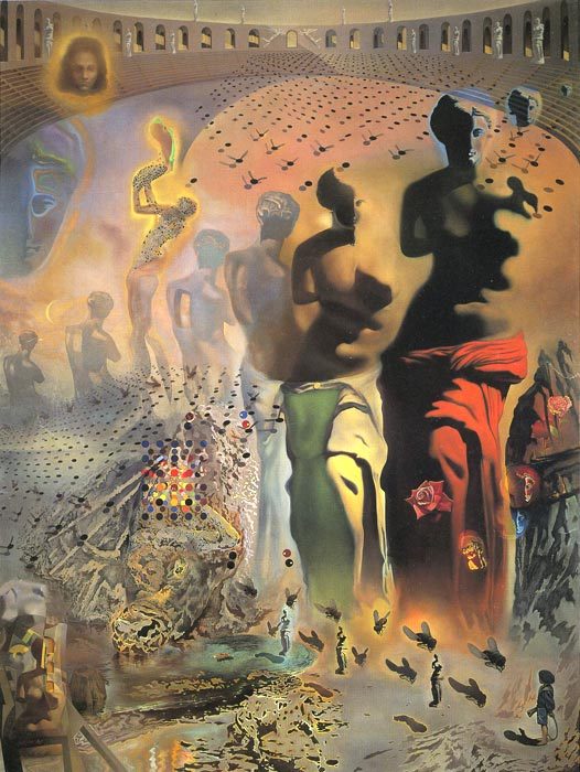 The Hallucinogenic Toreador, (1969-70) Dali, Salvador Painting Reproductions