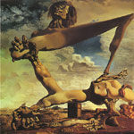 Dali, Salvador Premonition of Civil War, 1936 Art Reproductions