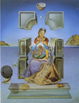Dali, Salvador First Study For the Madonna of Port lligat, 1949 Art Reproductions