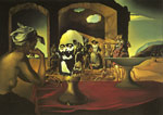 Dali, Salvador Slave Market with the Disappearing Bust of Voltair, 1940 Art Reproductions