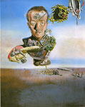 Dali, Salvador Portrait  of Paul Eluard, 1929 Art Reproductions