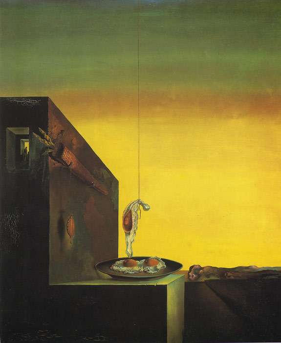 Fried Eggs in a Plate Without the Plate Dali, Salvador Painting Reproductions
