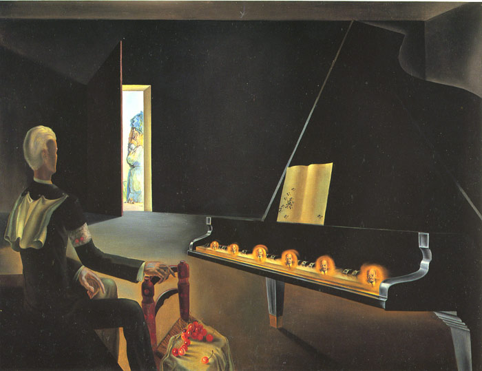 Partial Hallucination:Six Apparitions of Lenin on a Piano, 1931  Painting Reproductions