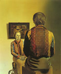 Dali, Salvador Portrait of Gala, 1935 Art Reproductions