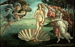 742 The Birth of Venus, 1485 Art Reproductions