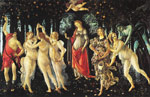 745 La Primavera [Allegory of Spring], 1477-1478 Art Reproductions