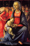 Botticelli, Sandro The Virgin and Child with Five Angels Art Reproductions
