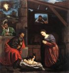 0 Adoration of the Shepherds, 1540 Art Reproductions