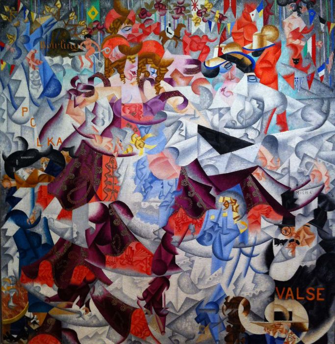 Gino Severini - Waltz  Painting Reproductions