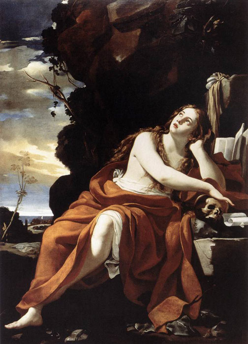 St Mary Magdalene, 1623-27  Painting Reproductions