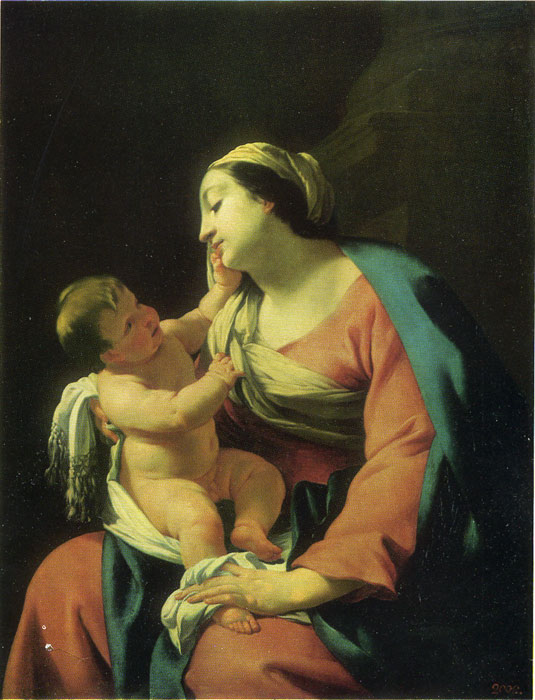 Virgin and Child  Painting Reproductions