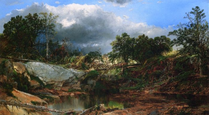 Mill Brook, New Hampshire , 1879  Painting Reproductions
