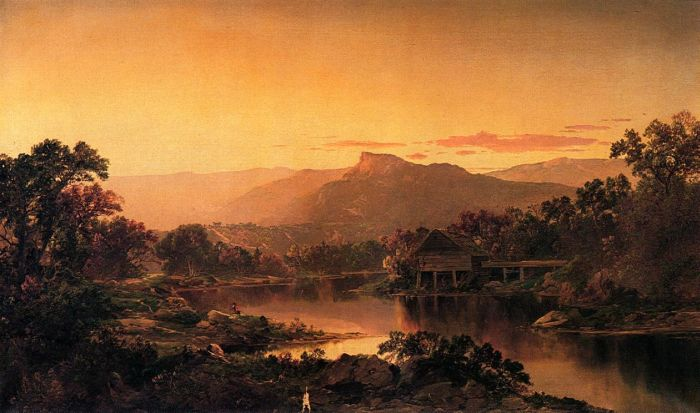 River View , 1864  Painting Reproductions