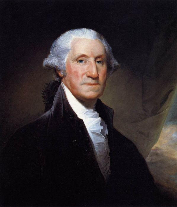 George Washington, 1795  Painting Reproductions