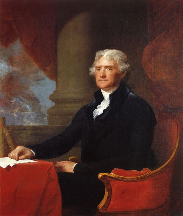 Thomas Jefferson, 1805  Painting Reproductions