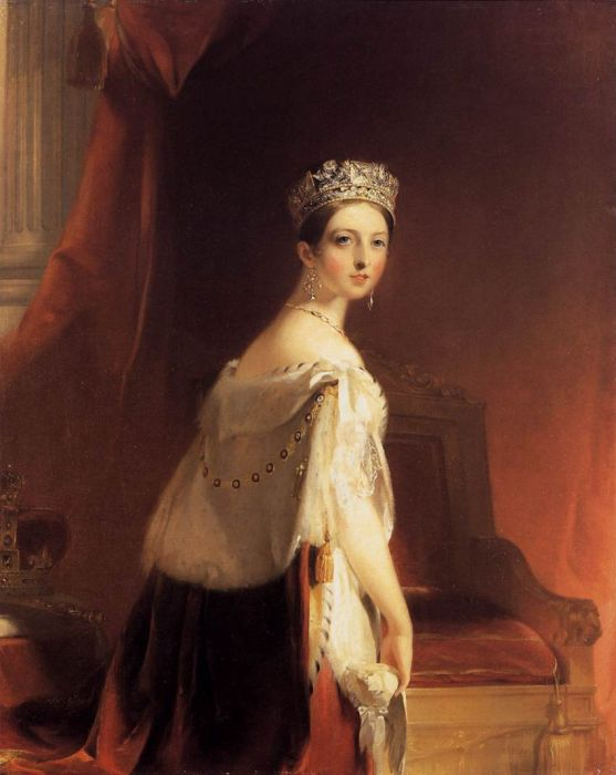 Queen Victoria, 1838  Painting Reproductions