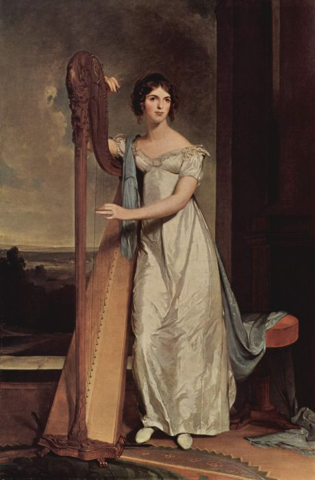 Portrait of Eliza Ridgely, 1818  Painting Reproductions