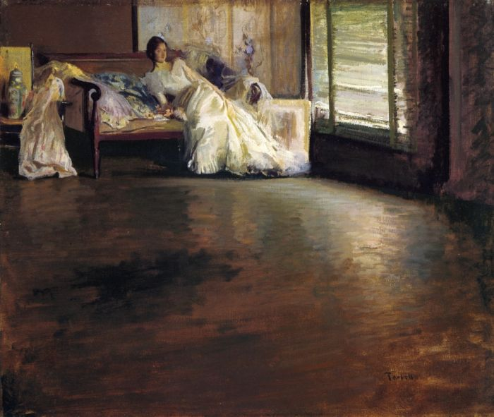 Across the Room, 1899  Painting Reproductions