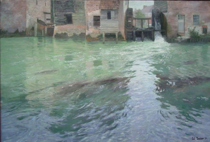 The Water Mill, 1892  Painting Reproductions